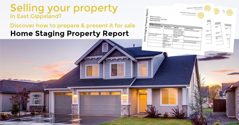 Home Staging Property Report