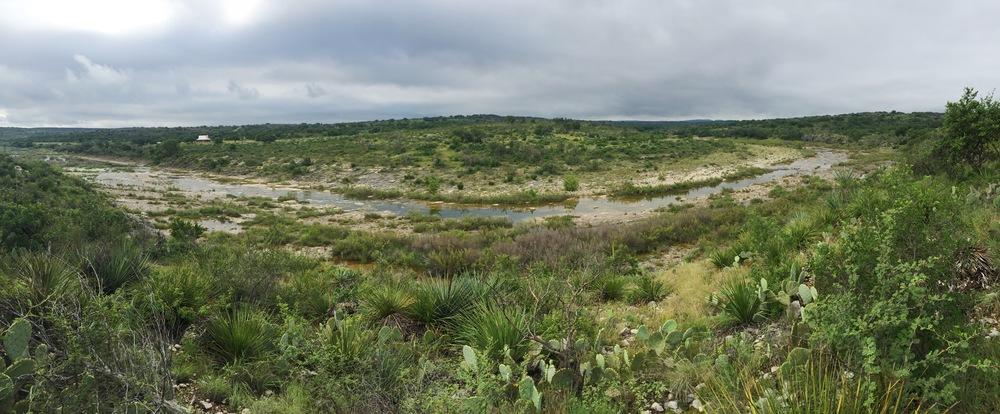 James River, SW Mason County, Texas