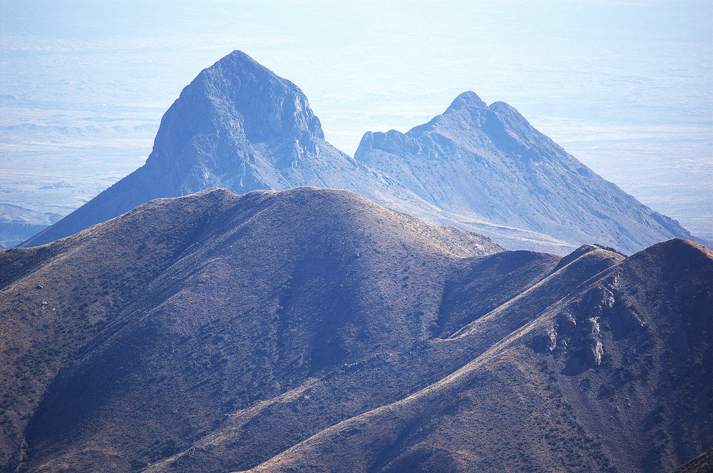 Elephant Tusk Mountain, Chisos Mountains