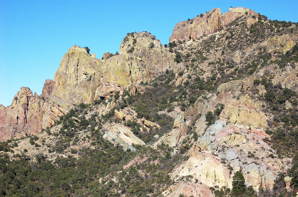Lost Mine Peak, Chisos Mountains