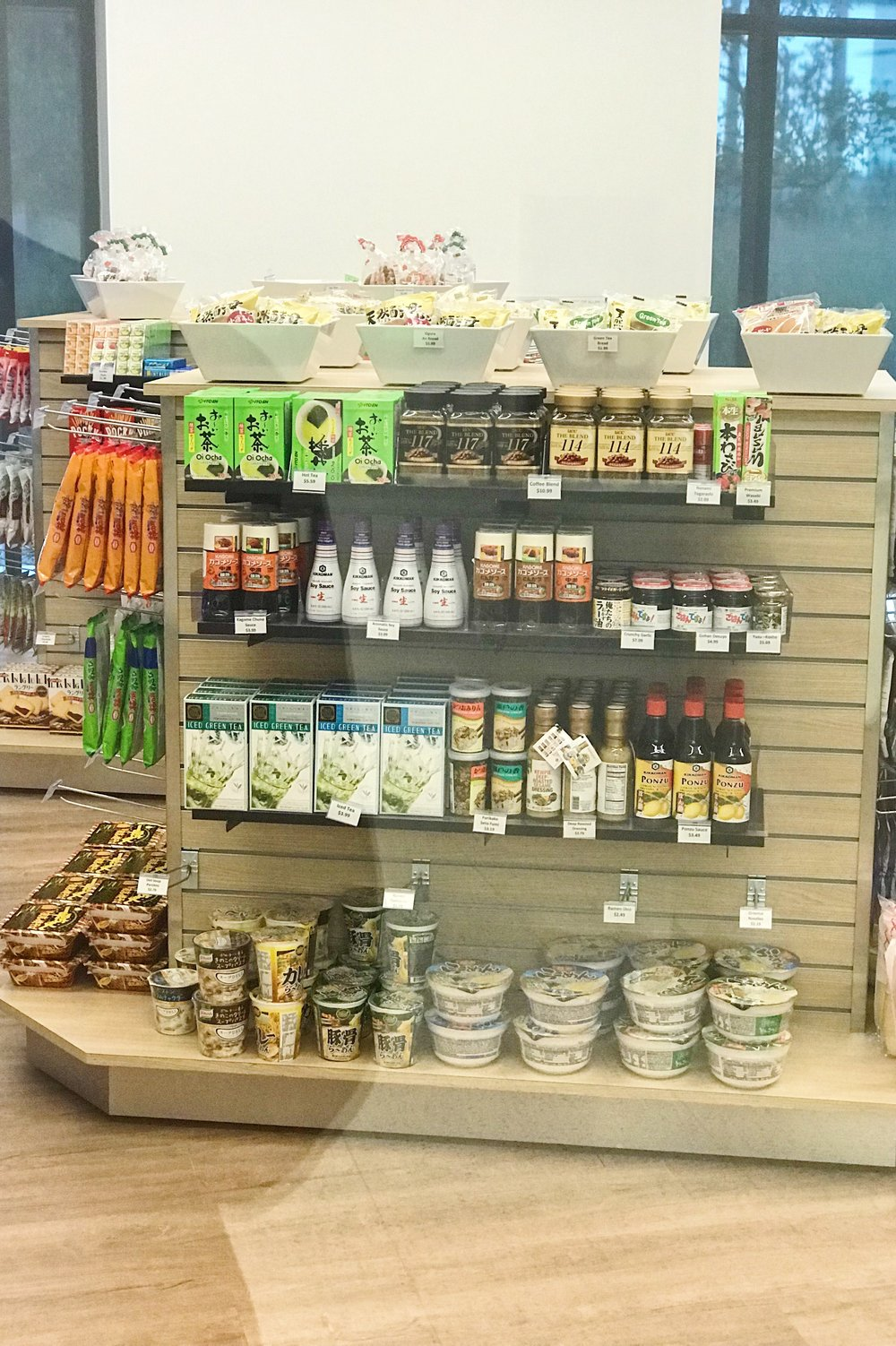 Convenience store carrying Japanese products.