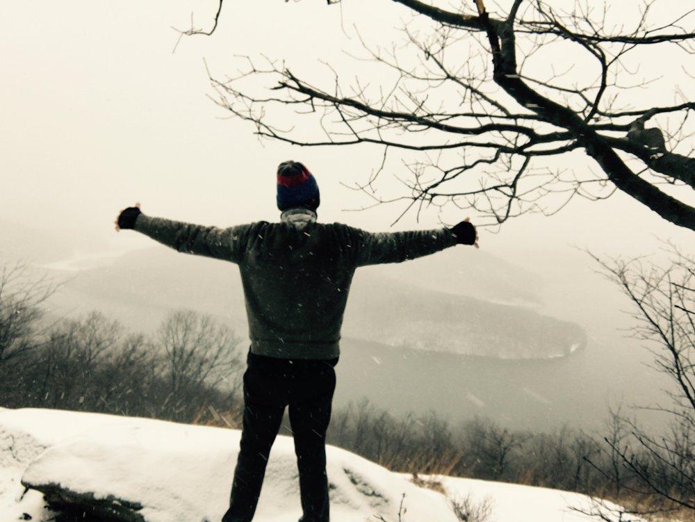 living wide, hugging Monksville Reservoir