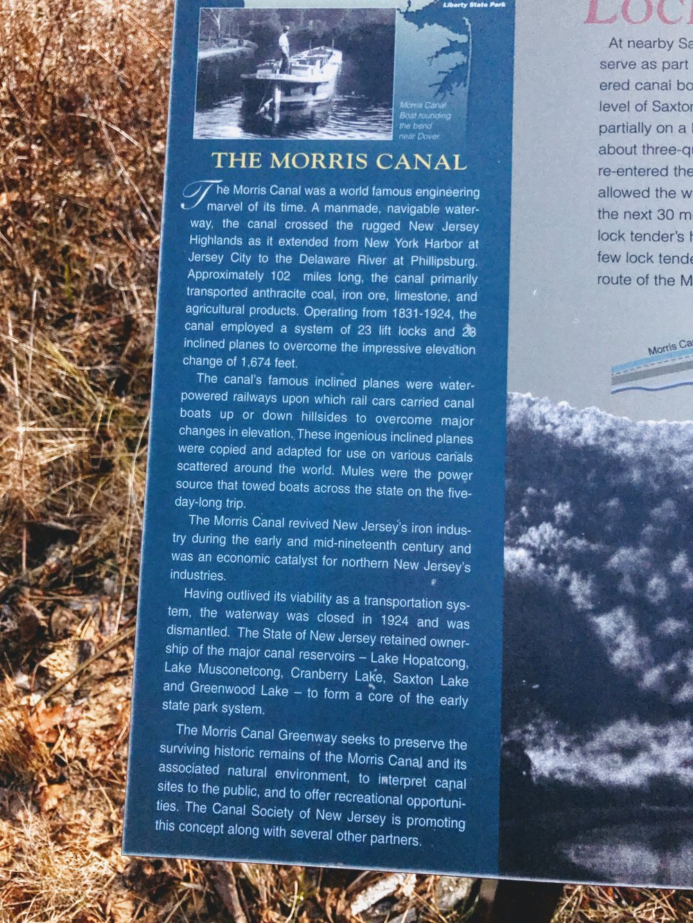 More on the Morris Canal. Don't be ignorant. Read it. Someday there will be a plaque about the great Central Park that once served the people of New York City, back when human beings enjoyed recreation and relaxation in places called parks. You will want a robot to read that plaque about you.