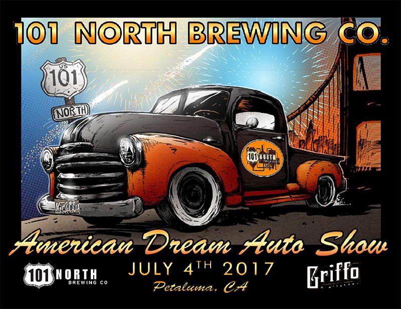 American Dream Auto Show — 101 North Brewing Co.