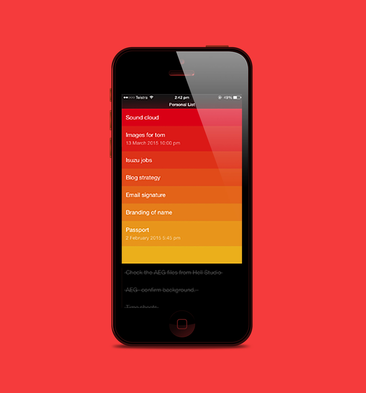 Clear App.