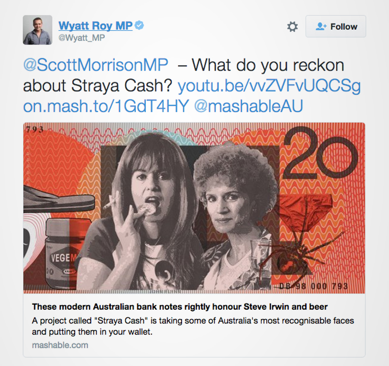 Wyatt Roy Straya Cash