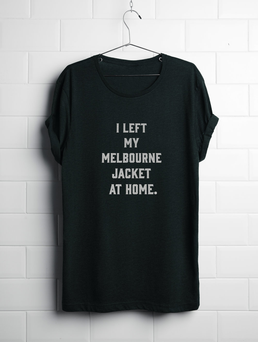 Melbourne Jacket t-shirt reward.