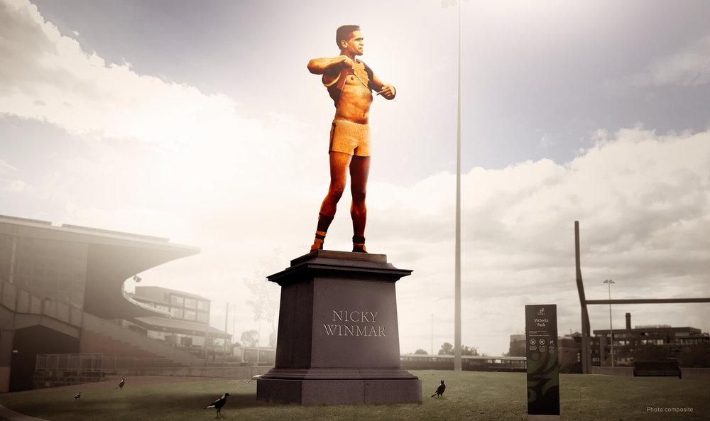 Nicky Winmar Statue