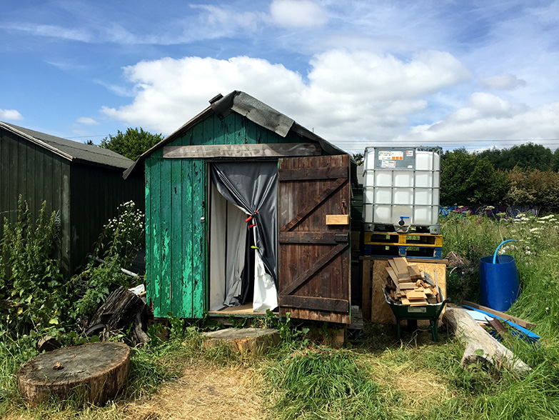 Inside a Green Backyard  (2015-), Jessie Brennan's Metal Peterborough residency project