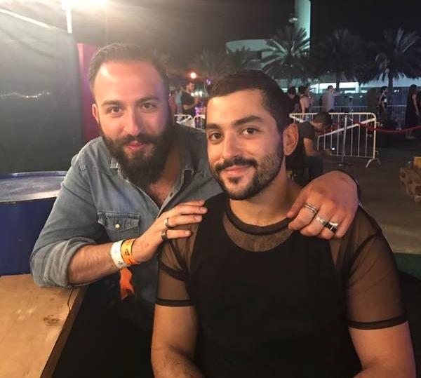 With Hamed Sinno