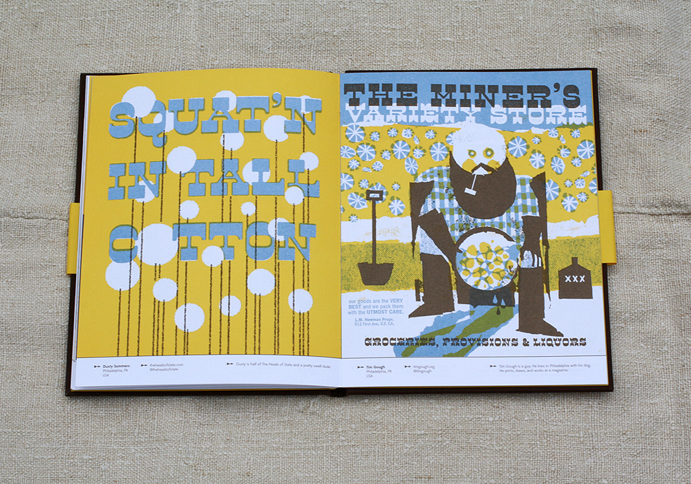 Opposite page design: Dusty Summers