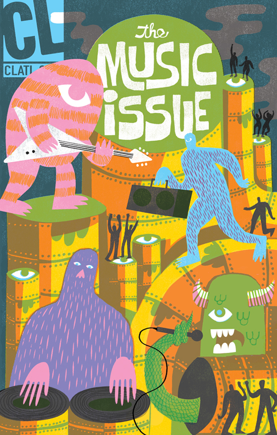 Creative Loafing Atlanta Featured in American Illustration 33