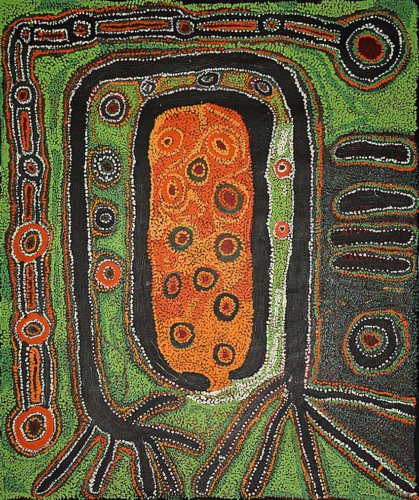 Art-aborigene-artiste-Iyawi-Wikilyiri