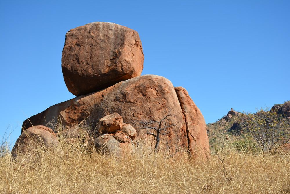 Blocs rocheux près de Warmun
