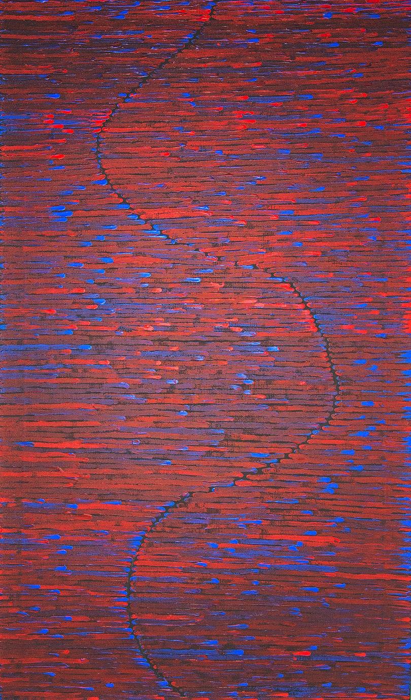 Art-aborigene-artiste-Joseph-Tjangala-Zimran