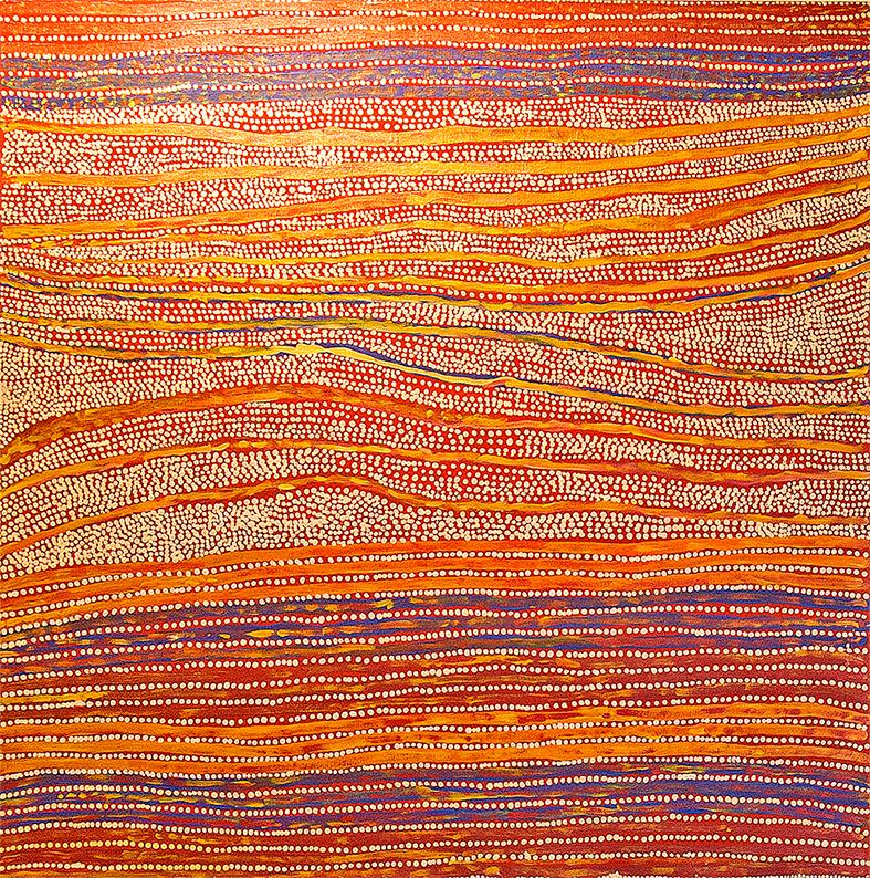 Art-aborigene-artiste-Mavis-Nampitjinpa