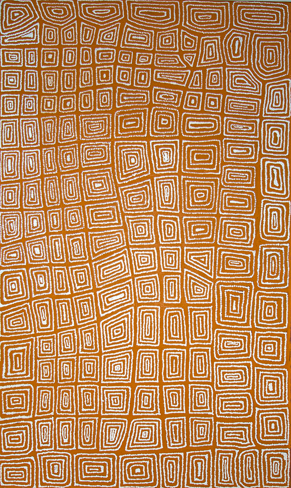 John John Bennett. Tingari Men travel.  © with courtesy of the artist & Papunya Tula