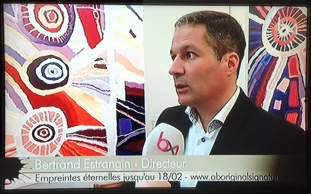 La galerie Aboriginal Signature sous les feux de la rampe dans l'émission l'Affiche de la TV Belge BX1