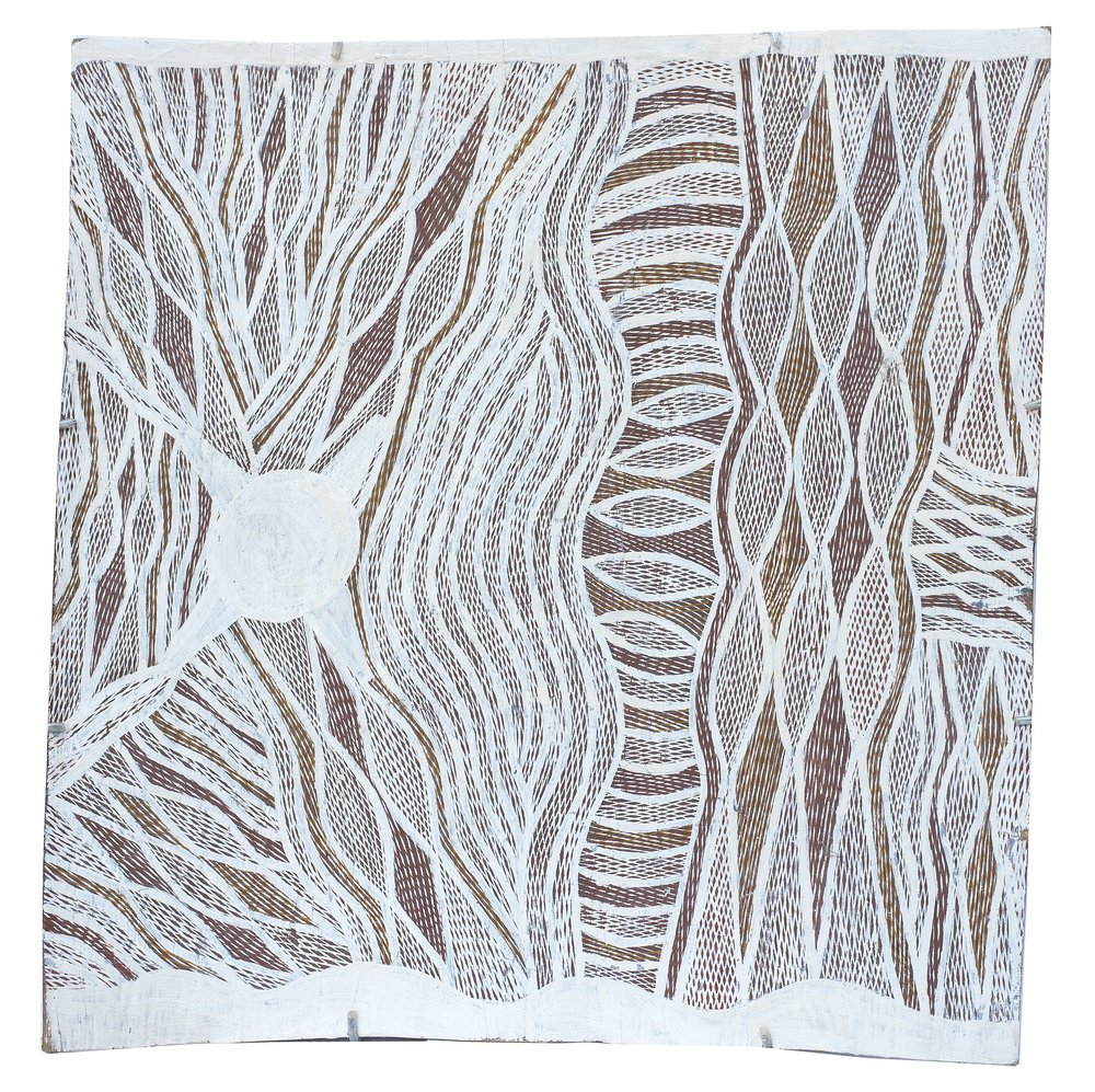 Napuwarri Marawili - Yathikpa - 65 x 60 cm - 4090Y — Art Aborigène d ...