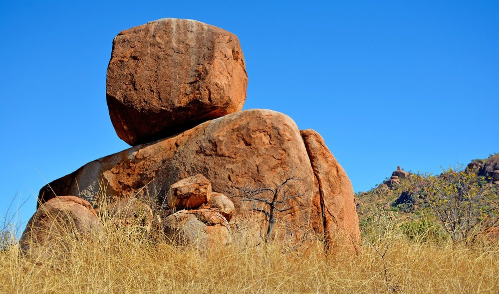 Les constructions rocheuses tutélaires du Kimberley Australien. 2014. © Photo : Aboriginal Signature Estrangin