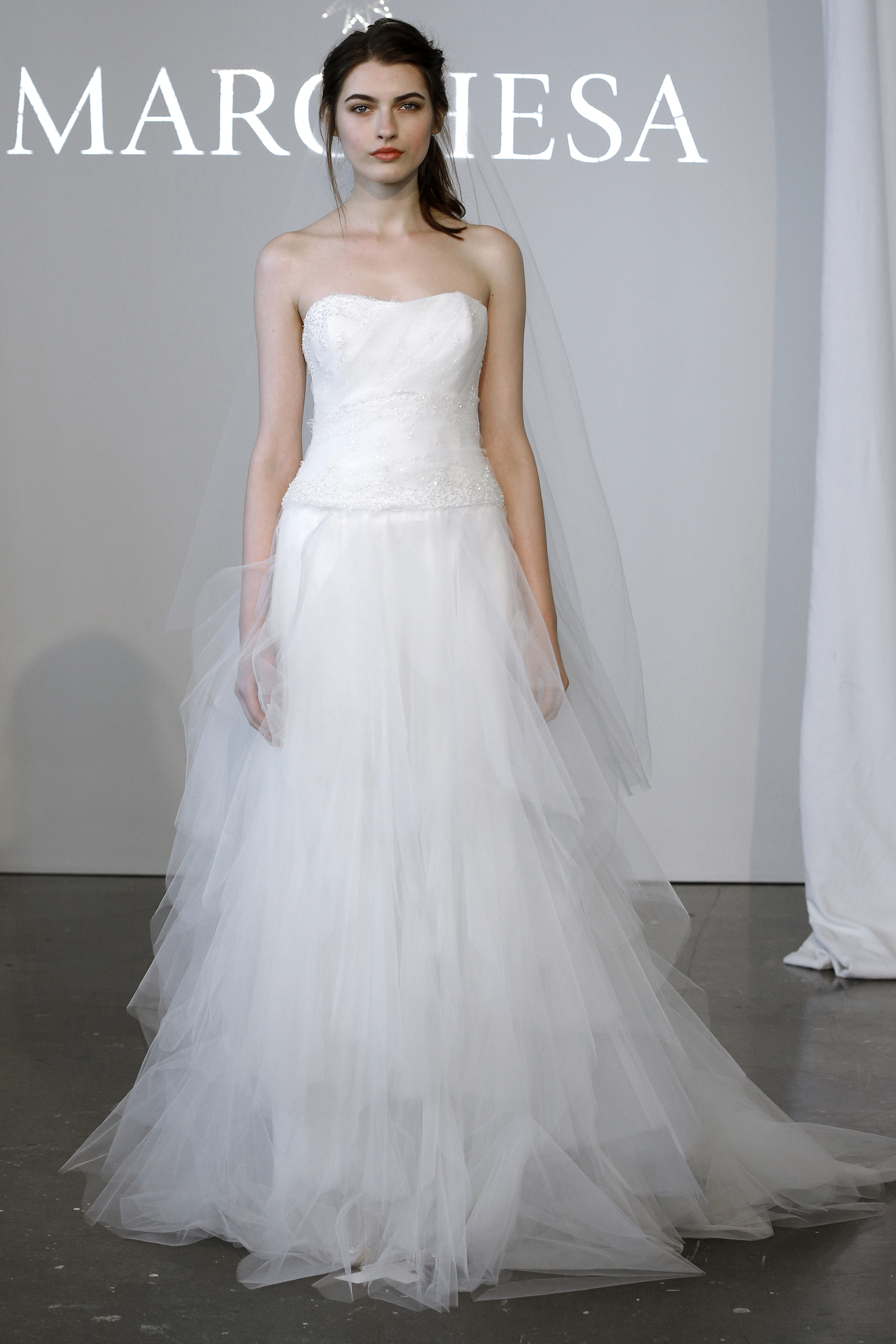 Marchesa, Bridal Fashion Week; Spring 2015;
