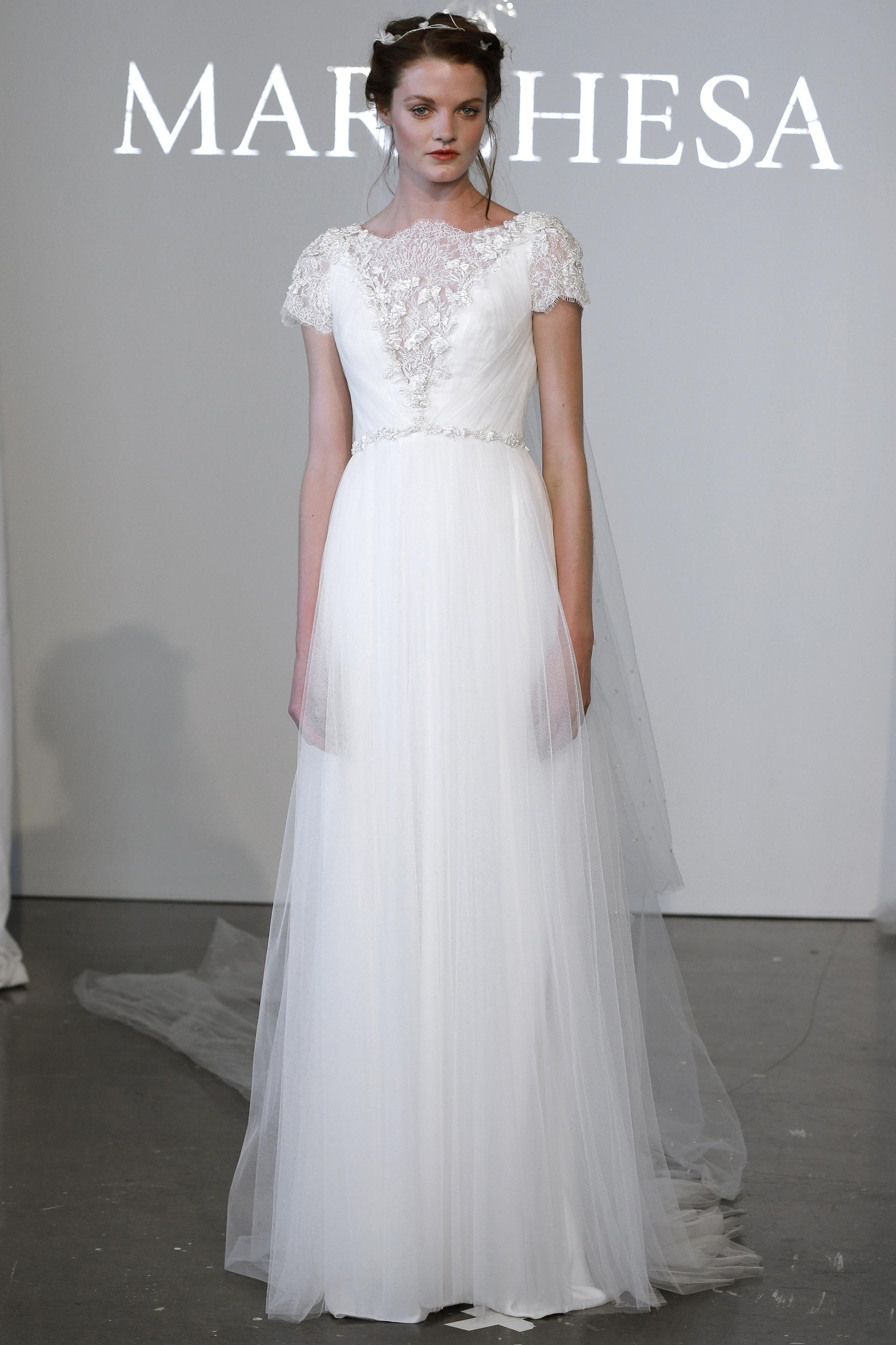 Marchesa, Bridal Fashion Week; Spring 2015;