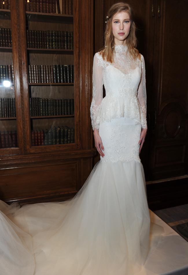 marchesa-peplum-long-sleeve-wedding-dress