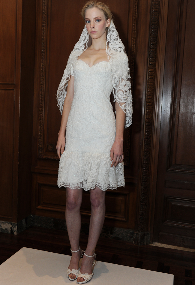 marchesa-short-lace-wedding-dress