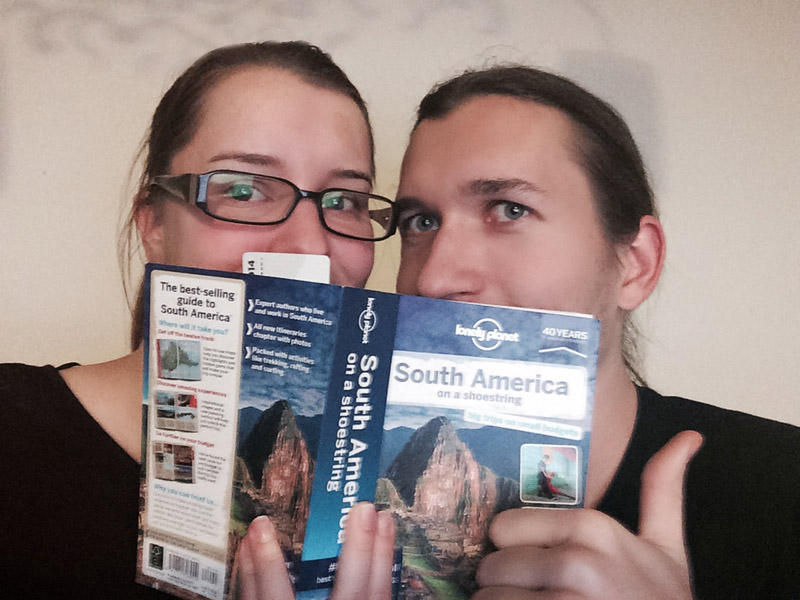 wedding travellers south america