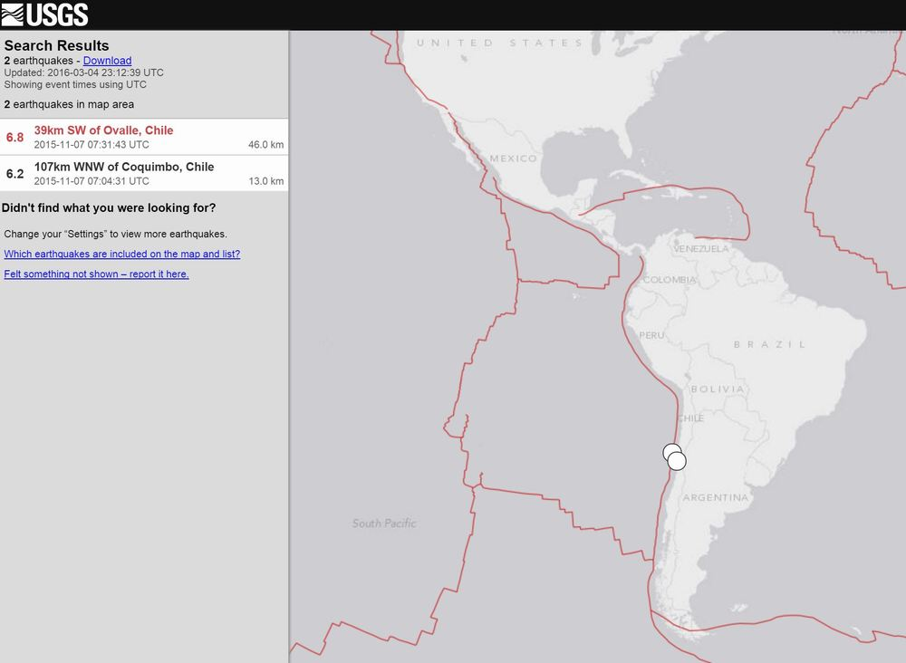 DId you know that Chile is the most seismic active country in the world? We didn't :)