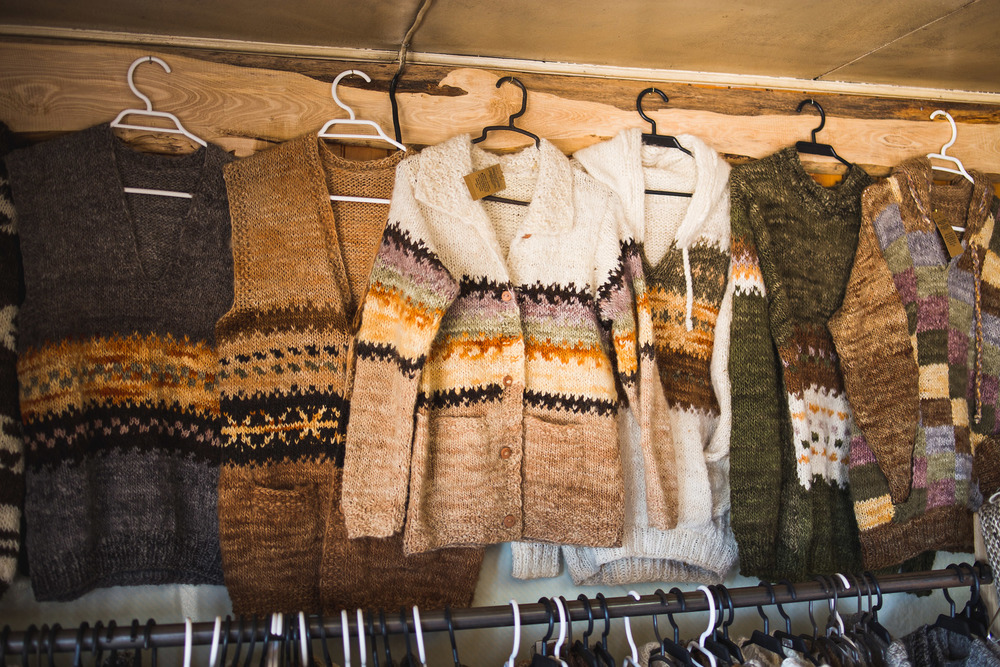 Chiloé is also famous for it's products from wool.