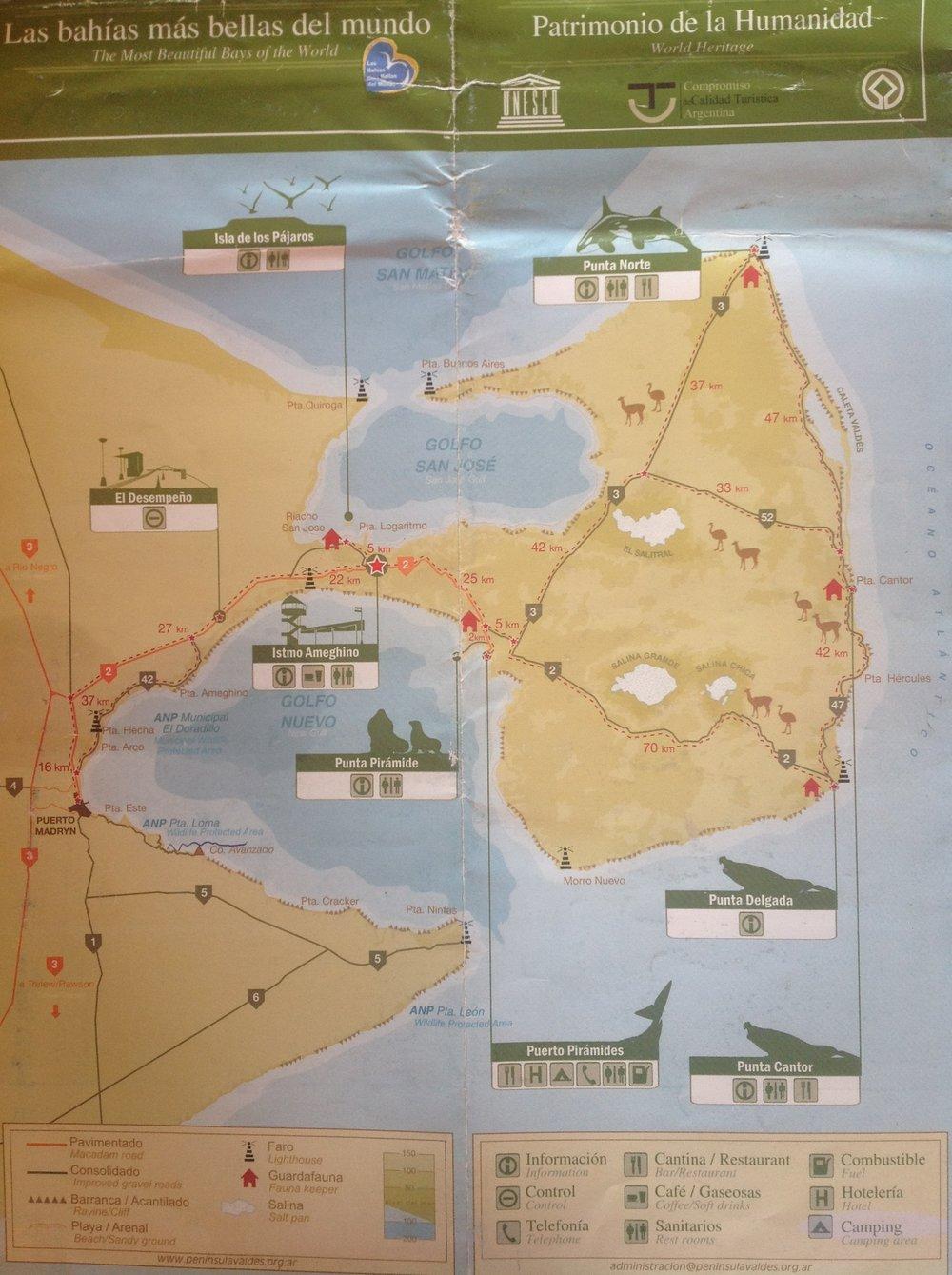 wedding-travellers-argentina-peninsula-valdes-map