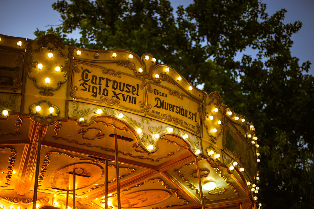 Wedding-travellers-Argentina-Buenos-Aires-Park-Carousel-Night