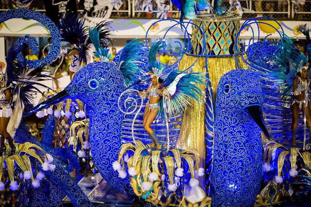 Everpresent samba dancers
