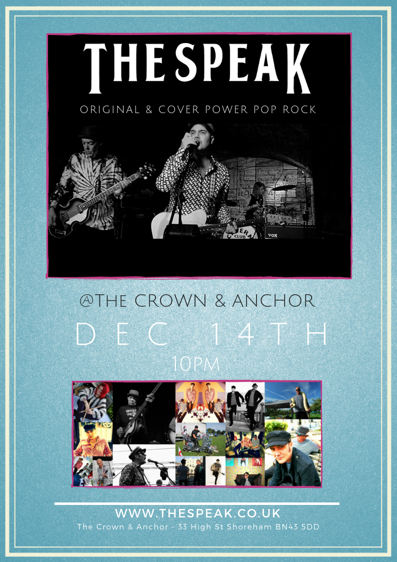 The Crown & Anchor, Shoreham-by-Sea - Friday December 14th
