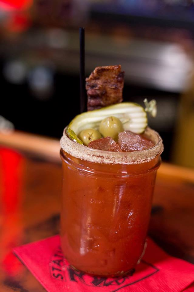 Bloody Mary w/Beer Chaser $4 on Sundays