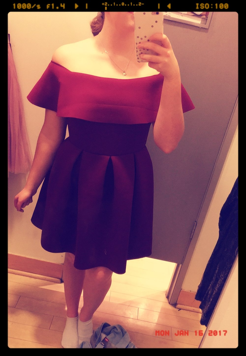 Homecoming dress found!