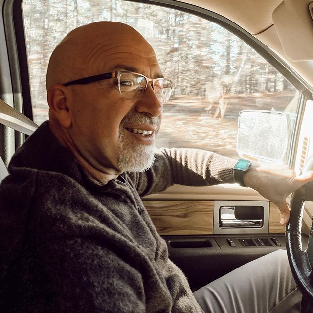 This guy still ❤️😍❤️ after 32+ years. #sundaymorningdrive #longtimelove #baldisbeautiful 😂😂