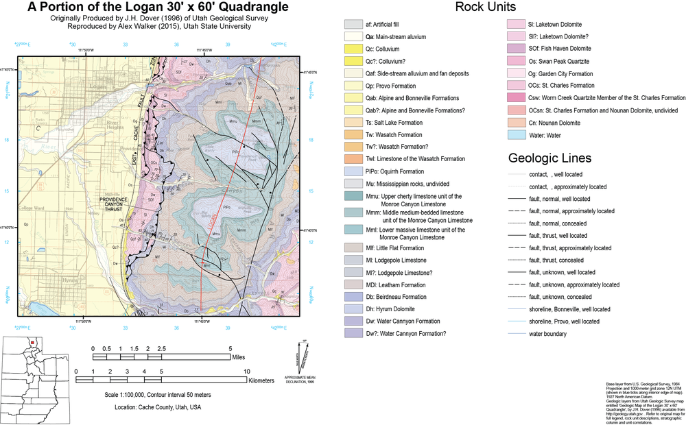 Lab 3: Reproducing a geologic map