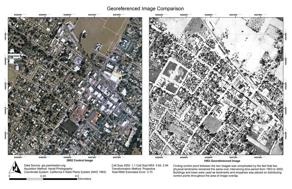 Lab 9: Georeferencing