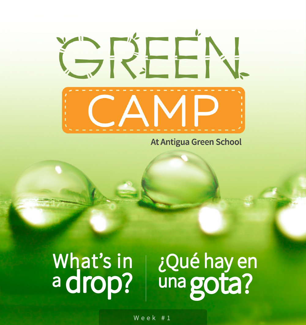 "Week 1: What's in a Drop?Water and Other Natural Resources     - The importance of water and other natural resources. There will be partnership activities with ""El Pilar"" and ""Earth Lodge""."