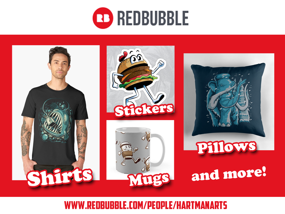 Redbubble advertisement for website.png