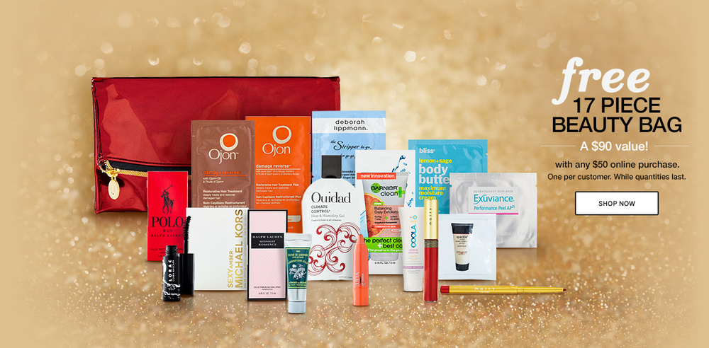 Free Beauty Samples Bag