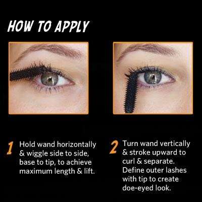 Here's the BEST way to apply Benefit's They're Real mascara:
