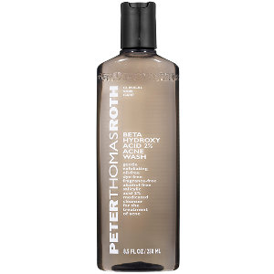 4. PETER THOMAS ROTH- Beta Hydroxy Acid 2% Wash $35    I just got this wash not too long ago and I was just as impressed with it, as I was with the anti-aging cleanser Peter Thomas Roth has as well listed above! The difference with this wash versus the orange one, is that this cleanser contains a 2% Beta Hydroxy Acid as its main ingredient. It's also a little more on the mild side so if you have sensitive skin you may want to try this wash first! You also want to add a moisturizer if you don't already have in your routine in order to prevent over-drying as that can occur with the Anti-aging cleanser mentioned above.
