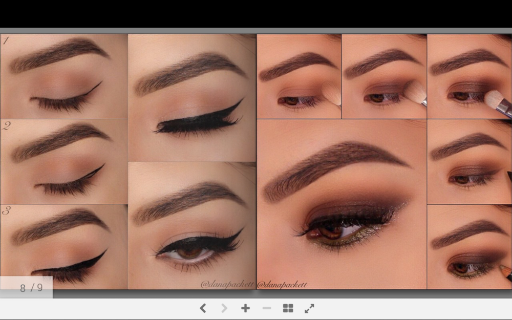 Eye Line and Eye Shadow Looks * Step-by-step guide