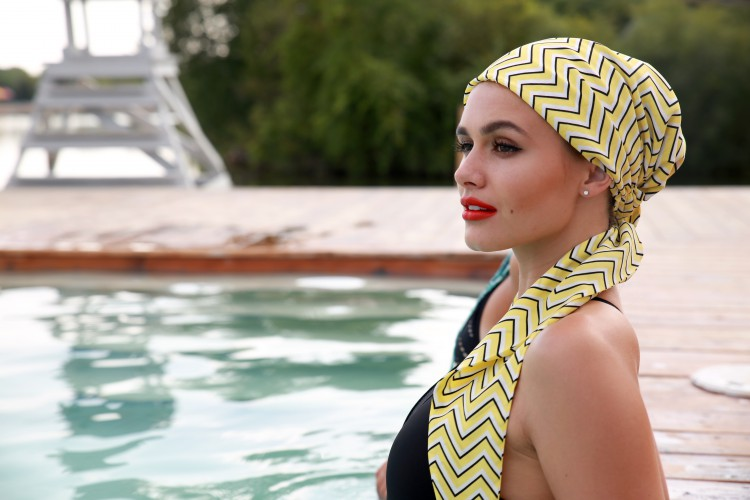 HADRY Scarf-  Some Like It Hot Yellow