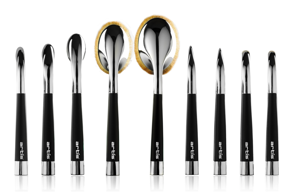 From Left to Right: Oval 10, Oval 8, Oval 6, Oval 4, Oval 3, Linear 3, Linear 1, Circle 1, & Circle 1R