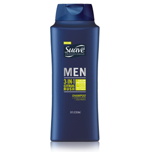 Suave Men 3-in-1 Shampoo, Conditioner, & Body Wash $2.69