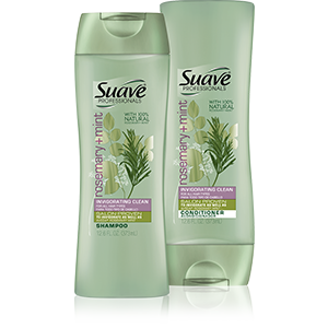Suave Professionals Rosemary + Mind Shampoo & Conditioner $2.99 ea.